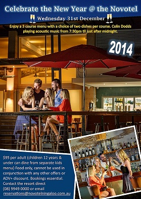 New Year @ the Novotel Ningaloo